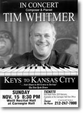 Tim Whitmer at Carnegie Hall